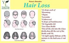 Using Young Living Oils for Hair Loss - FB Page: Young Living with Mrs. T, like to order? Visit https://www.youngliving.com/signup/?isoCountryCode=US&isoLanguageCode=en&type=DISTRIBUTOR, please consider using my ID SRM #1581922 <><> More info:  http://www.trichozed.com/?id=8a4647
