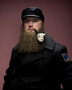 Viking beard + Da Pipe= Viking God