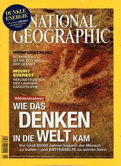 Wie das Denken in die Welt kam. Gefunden in: National Geographic Deutschland, Nr. 1/2015