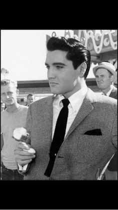 Elvis Presley...classically handsome, phenominal charisma