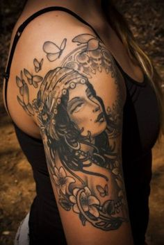 traditional gypsy sleeve tattoo - Google Search