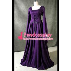 Free Shipping Victorian ROCOCO Gown Ball Dress Gothic Costume Tailor-made