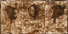 Charles white the wanted poster series