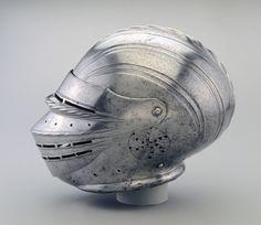 Field Armor in Maximilian Style: Helmet | Cleveland Museum of Art