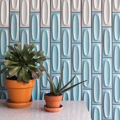 Streng House, Sacramento CA Chevron Tile, Herringbone Tile, Heath Ceramics Tile, Heath Tile, Loft Design, House Design, Art Deco Tiles, Arabesque Tile, Handmade Tiles
