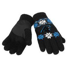 Carolina Panthers Lodge Gloves