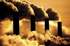 Are we hurting the environment? Could you imagine living next to these chimneys?