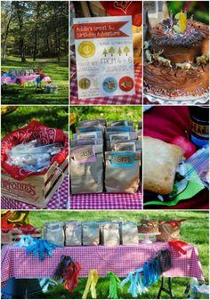 Addie's Great 3rd Birthday Adventure Party #creativemamas