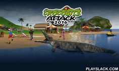 Crocodile Attack 2016  Android Game - playslack.com , support an empty crocodile Pre-Raphaelite. Go the a shore and attack homos and different creatures. Get prepared for the anger of the risky vertebrates in this addictive game for Android. You'll know that the crocodile is the most violent attacker on the planet. Control the conqueror in the water. Turn vessels and attack athletes. Make the crocodile motion to the shore to capture one of the resting groups. investigate the large arena…