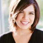 Short bob hairstyle 2014 - America Ferrera short hairstyle