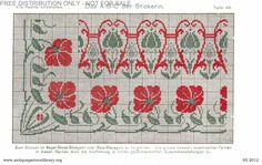 Gallery.ru / Фото #55 - Das ABC der Stickerin - gabbach Das Abc, Cross Stitch Borders, Needlework, Kids Rugs, Albums, Home Decor, Flora, Ornaments, Gallery