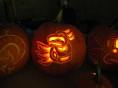 Haida Eagle - Halloween Pumpkin - Jack-o-lantern