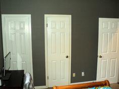 Guest Bedroom #1 Left door goes to Jack and Jill Bathroom Middle door is a Closet Right door exits to hallway
