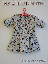 Tutorial: Little girl's pleated princess seam bodice · Sewing | CraftGossip.com
