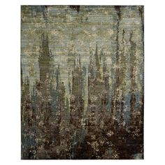 "Nourison Rhapsody Collection Area Rug, 7'9"" x 9'9"""