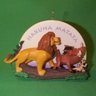 1995 Disney - Lion King