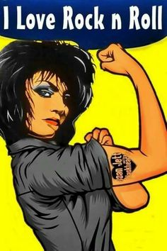 Joan Jett : I love rock and roll.