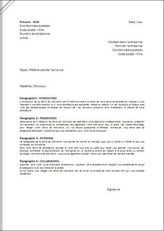 La lettre de motivation pinteres for Interieur en francais