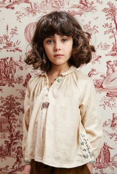 Embroidered Blouse | Caramel Baby & Child