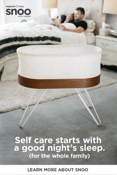 Get more hours of sleep with SNOO smart bassinet. Created by Dr. Harvey Karp, author of Happiest Baby on the Block, SNOO is the only smart bassinet that automatically responds to soothe your baby with gradually stronger levels of white noise and motion. The Block, Dr H, Baby Bassinet, Baby Crib, Baby Sleepers, Nursery Neutral, Happy Baby, Baby Feeding, Boy Room
