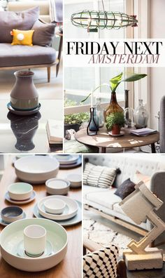 FRIDAY NEXT - Home Decor Amsterdam: A shopping paradise for home decor enthusiasts...