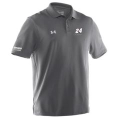 Add the brand new #ChaseElliott No. 24 signature performance Under Armour polo to your closet!