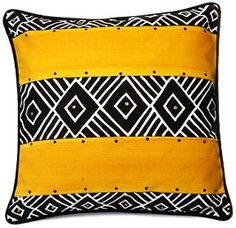 Nonwestern design: This is another great example of nonwestern design.  This is a pillow with a South African design.  African patterns are very distinct.  There aren't many western ideas in design that compare to that of African culture.
