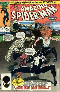 Amazing Spider-Man (1963 1st Series) 283 Marvel Comic book cover