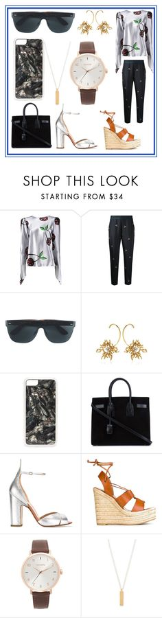 """Your Your Style"" by denisee-denisee ❤ liked on Polyvore featuring Natasha Zinko, Victoria, Victoria Beckham, RetroSuperFuture, Schield Collection, Zero Gravity, Yves Saint Laurent, Francesco Russo, Nixon and Maya Magal"