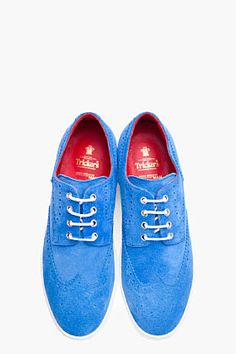Cool Stuff We Like Here @ CoolPile.com ------- << Original Comment >> ------- JUNYA WATANABE blue suede Brogues