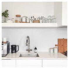 K I T C H E N S T U F F // I just love me a clean kitchen :) . #ikea #kitchenaid…