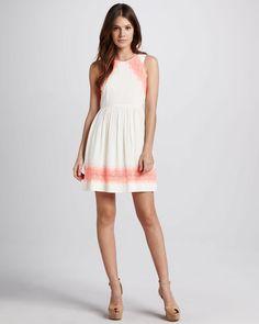 32342faf71 Alabaster Georgia Dress - Lyst Free People Dress