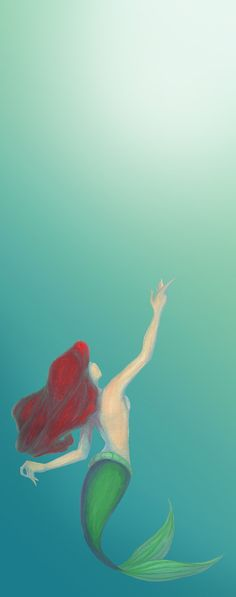 My love for Little Mermaid is long lost with my youth, but I still think this is a wonderful drawing :)