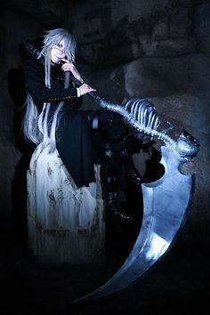 undertaker cosplay【Cosplay】葬儀屋(黒執事) 全身!^o^* http ...