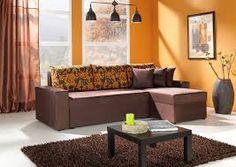 Living Room Ideas Orange