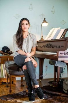 Back Roads Backstage with Vanessa Carlton How would you describe the sound of your latest album? VC:Dream pop done my way. Back Roads & Backstage with Vanessa Carlton Nick Jonas Smile, Old Friend Slippers, Vanessa Carlton, Hollywood Girls, Dream Pop, Wild Honey, Bebe Rexha, Back Road, Latest Albums