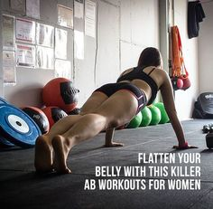 The best ab workouts for women involve a combination of strength training for your stomach muscles and aerobic activity. You may think that one of the best ab workouts for women is sit-ups or crunches.