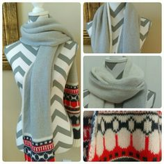 Reversible scarf Beautiful reversible scarf 2 in 1 great for any occasion or will make a wonderful gift GAP Accessories Scarves & Wraps