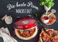 Ein Traum wird wahr! Pizza so knusprig wie im Steinofen gebacken, bei dir Zuhause! Mama Mia!