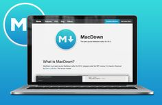 MacDown — The open source Markdown editor for OS X.