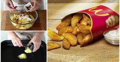 Crujientes y sabrosas: Patatas Deluxe caseras al estilo de McDonalds