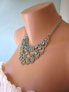 Great Gatsby Jewelry Art Deco Wedding by CrystalPearlJewelry, $80.00