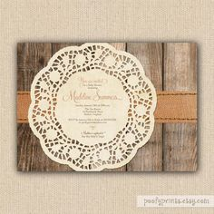rustic baby shower invitations diy printable baby by poofyprints love these wanna