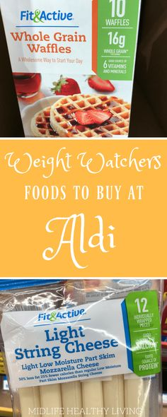 Today I'm sharing with you the Weight Watchers foods to buy from Aldi stores. Aldi stores are a great way to save on the foods you love that also happen to be perfect for the Weight Watchers Freestyle program. Weight Watchers Snacks, Programme Weight Watchers, Weight Watchers Meal Plans, Weight Watchers Breakfast, Weight Watchers Smart Points, Weight Watcher Dinners, Weight Watchers Products, Weight Watcher For Free, Weight Watchers Restaurant Points