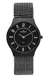 Skagen Steel Mesh Grey Dial Women's Watch : Dress watch, Japanese quartz movement Polished silver-tone hands and numbers, Brushed stainless steel grey Mesh Bracelet, Bracelets, Skagen Watches, Steel Mesh, Stainless Steel, Wrist Watches, Accessories, Halloween Sale, Birthday Ideas