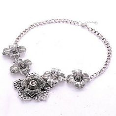 The Rose necklace by VinsterFashion on Opensky