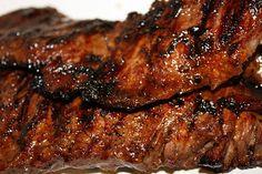 New skirt steak teriyaki recipe Ideas Skirt Steak Recipe Easy, Skirt Steak Recipes, Steak Sides, Steak Side Dishes, Beef Dishes, Food Dishes, Healthy Steak Recipes, Beef Recipes, Asian Recipes