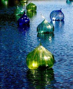 ** Blue & green