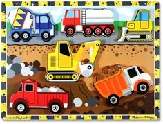 Melissa & Doug Construction Puzzle