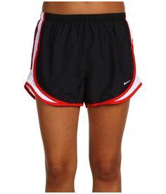 "Nike Dri-FIT™ Tempo Track 3.5"" Short Black/Tide Pool Blue/White/Matte Silver - Zappos.com Free Shipping BOTH Ways"
